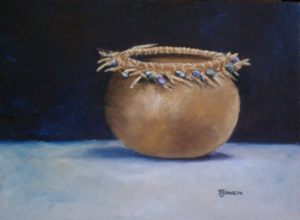 Oil Painting of Gourd
