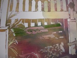 Green Bench 06 Detail